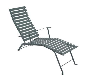 Bistro chaise longue – Storm Grey