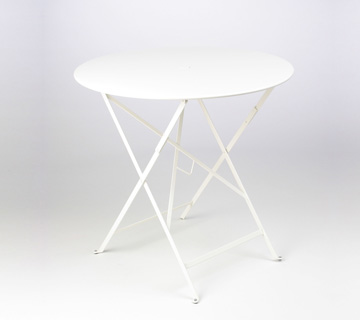 Bistro table Ø 77 cm – Cotton White