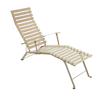 Bistro chaise longue – Nutmeg