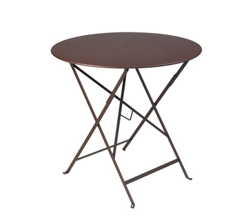 Bistro table Ø 77 cm – Russet