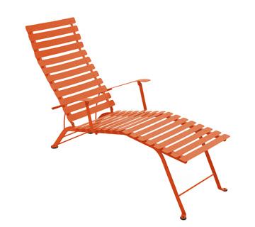 Bistro chaise longue – Paprika
