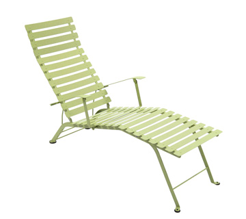 Bistro chaise longue – Willow Green