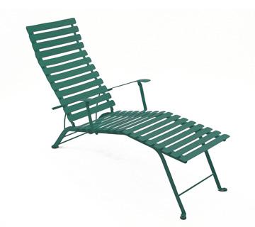 Bistro chaise longue – Cedar Green