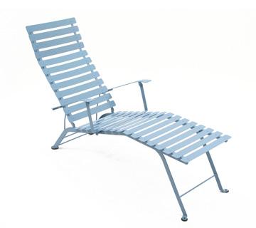 Bistro chaise longue – Fjord Blue