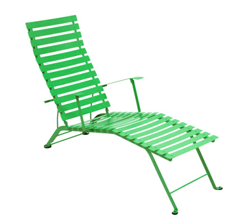 Bistro chaise longue – Grass Green