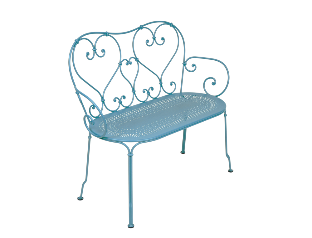1900 Bench – Turqouise Blue