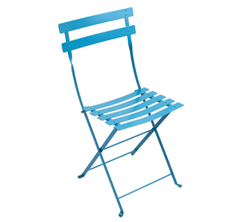 Bistro chair – Turqouise Blue