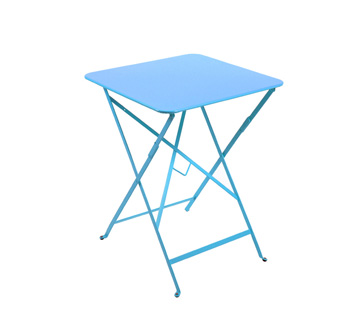 Bistro table 57 x 57 cm – Turqouise Blue