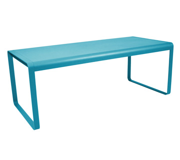 Table bellevie – Turquoise Blue