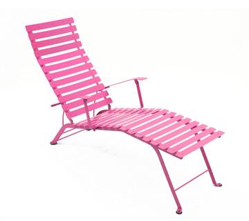 Bistro chaise longue – Fuchsia