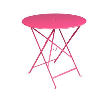 Bistro table Ø 77 cm – Fuchsia