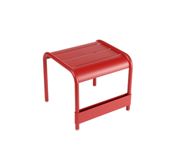 Luxembourg small low table/footrest – Poppy