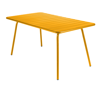 Luxembourg table 80 x 143 cm – Honey