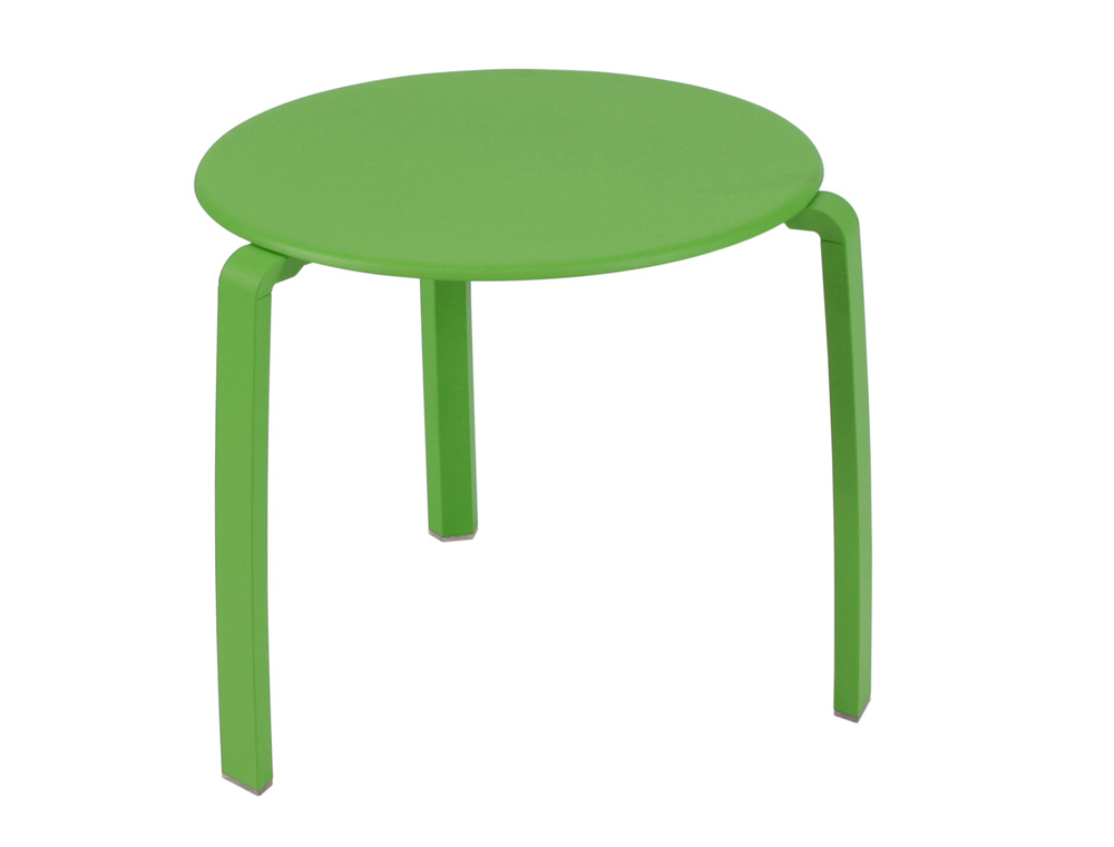 Alizé low table Ø 48 cm – Grass Green