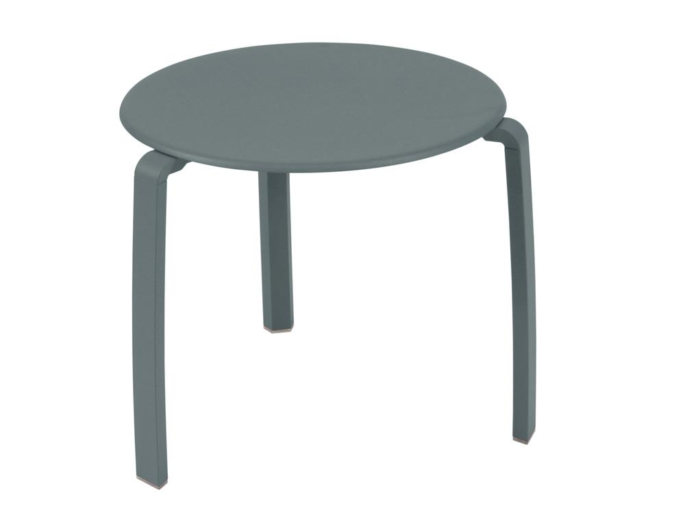 Alizé low table Ø 48 cm – Storm Grey
