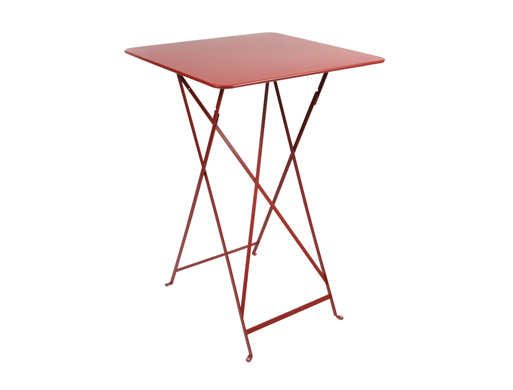 Bistro folding high table 71 x 71 cm – Poppy