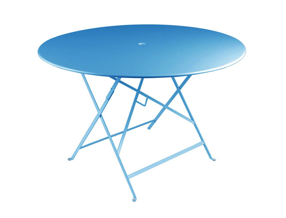Bistro table Ø 117 cm – Turqouise Blue