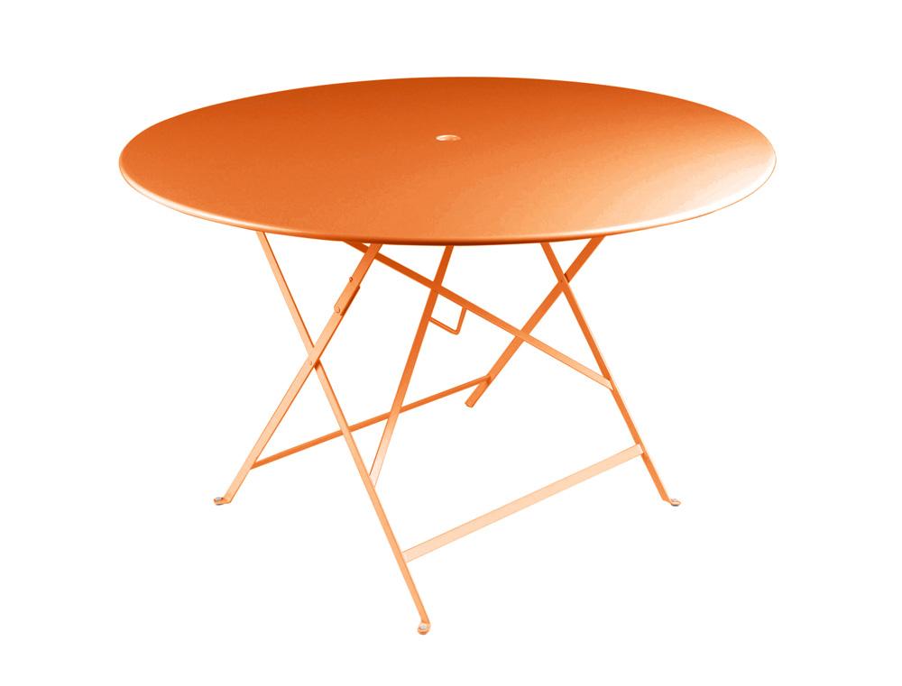 Bistro table Ø 117 cm – Carrot