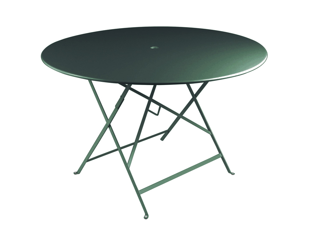 Bistro table Ø 117 cm – Cedar Green