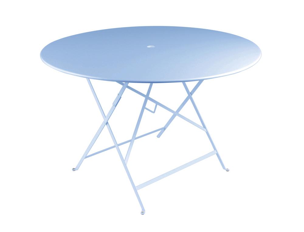 Bistro table Ø 117 cm – Fjord Blue