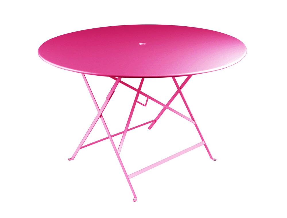 Bistro table Ø 117 cm – Fuchsia