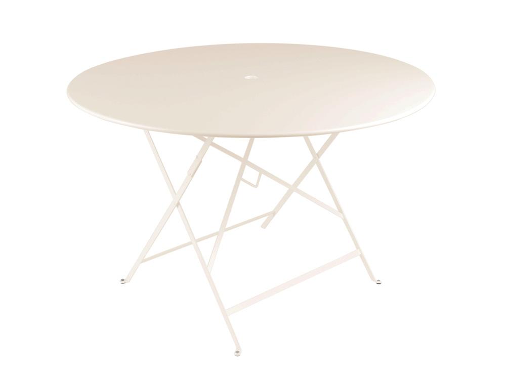 Bistro table Ø 117 cm – Linen