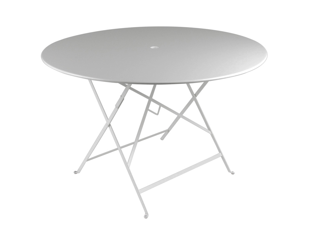 Bistro table Ø 117 cm – Steel Grey