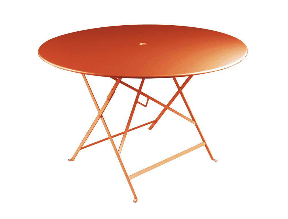 Bistro table Ø 117 cm – Paprika