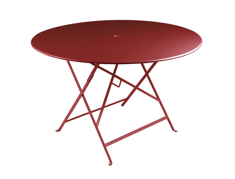 Bistro table Ø 117 cm – Chili
