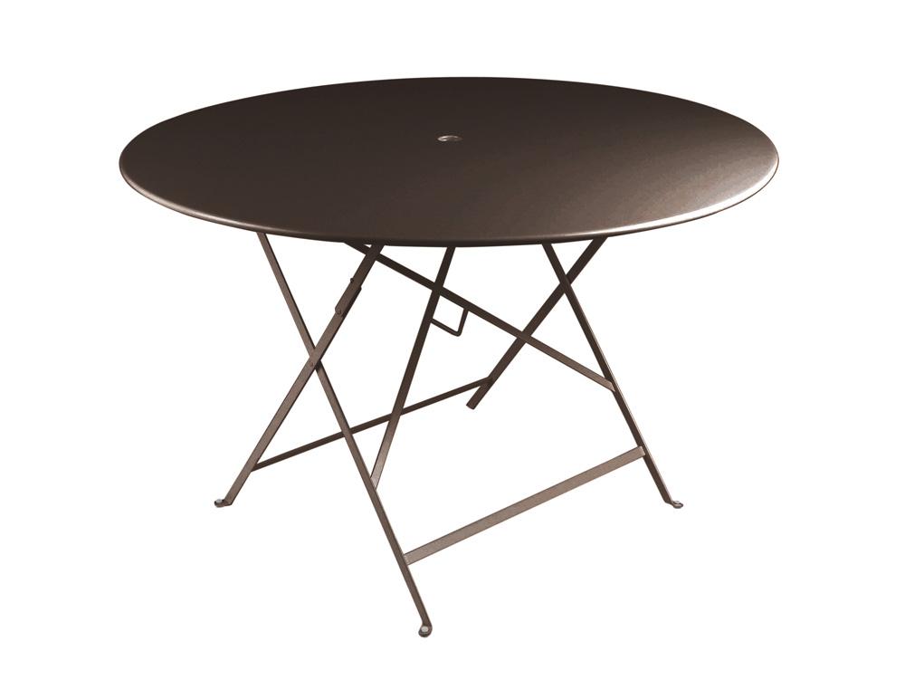Bistro table Ø 117 cm – Russet