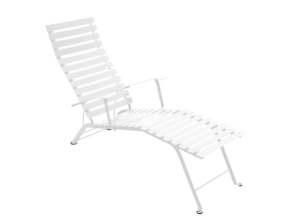 Bistro chaise longue – Cotton White