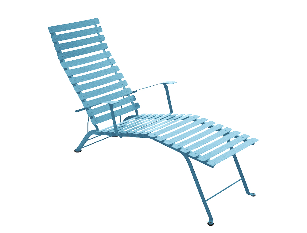 Bistro chaise longue – Turqouise Blue