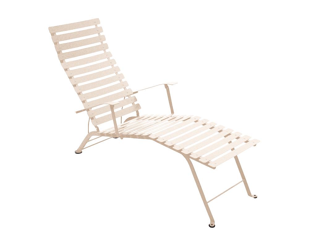 Bistro chaise longue – Linen