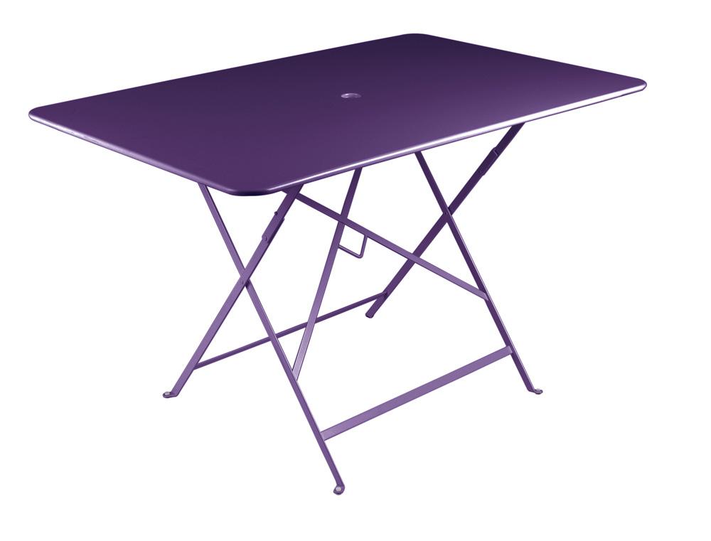Bistro table 117 x 77 cm – Aubergine