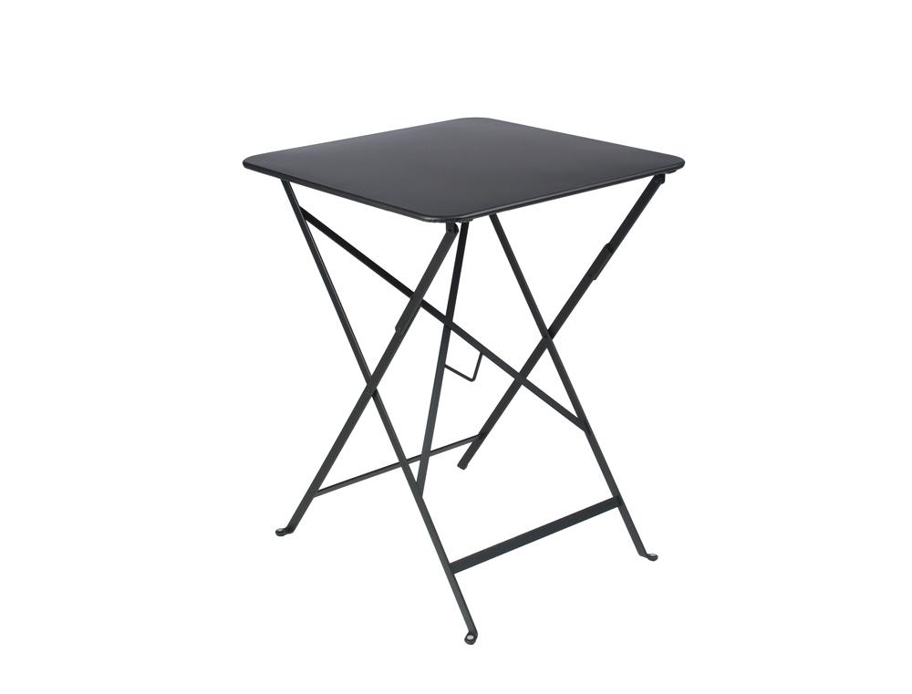 Bistro table 57 x 57 cm – Liquorice