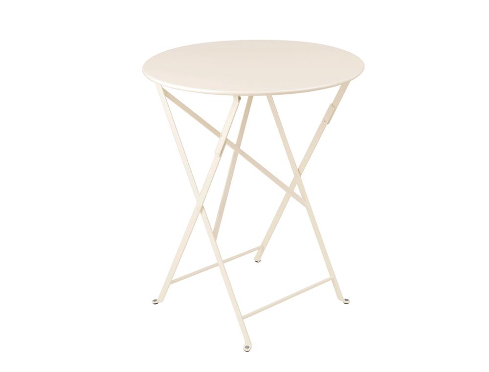 Bistro table Ø 60 cm – Linen