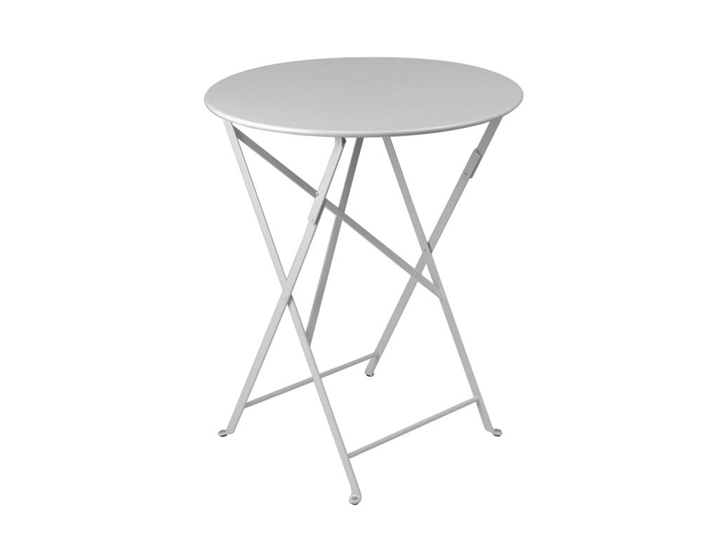 Bistro table Ø 60 cm – Steel Grey