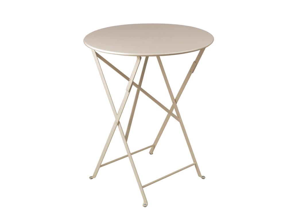 Bistro table Ø 60 cm – Nutmeg