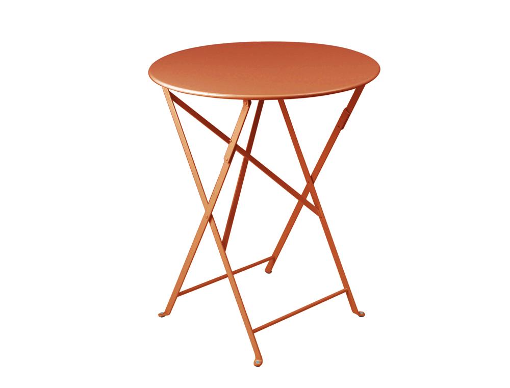 Bistro table Ø 60 cm – Paprika