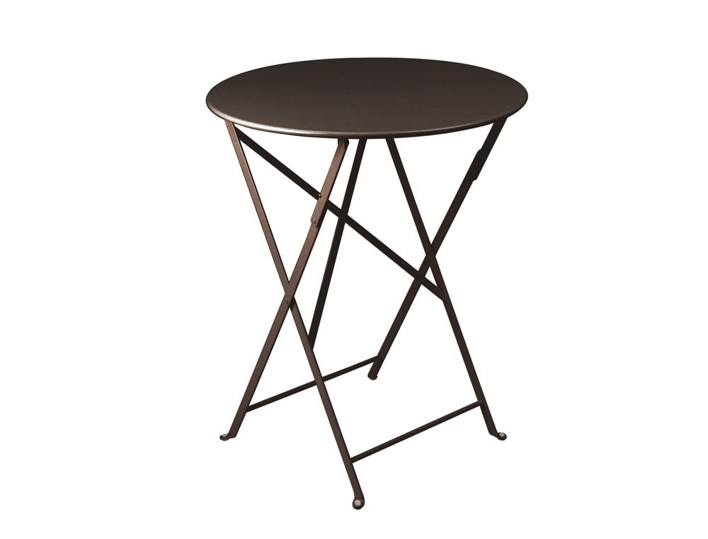 Bistro table Ø 60 cm – Russet