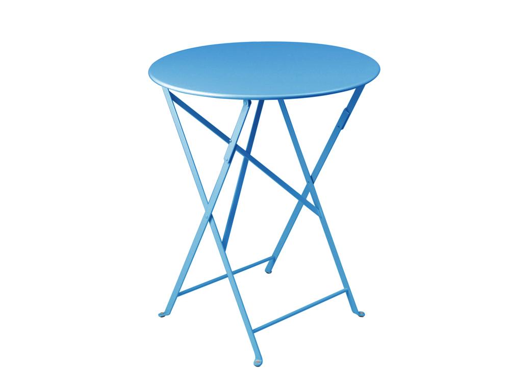Bistro table Ø 60 cm – Turqouise Blue