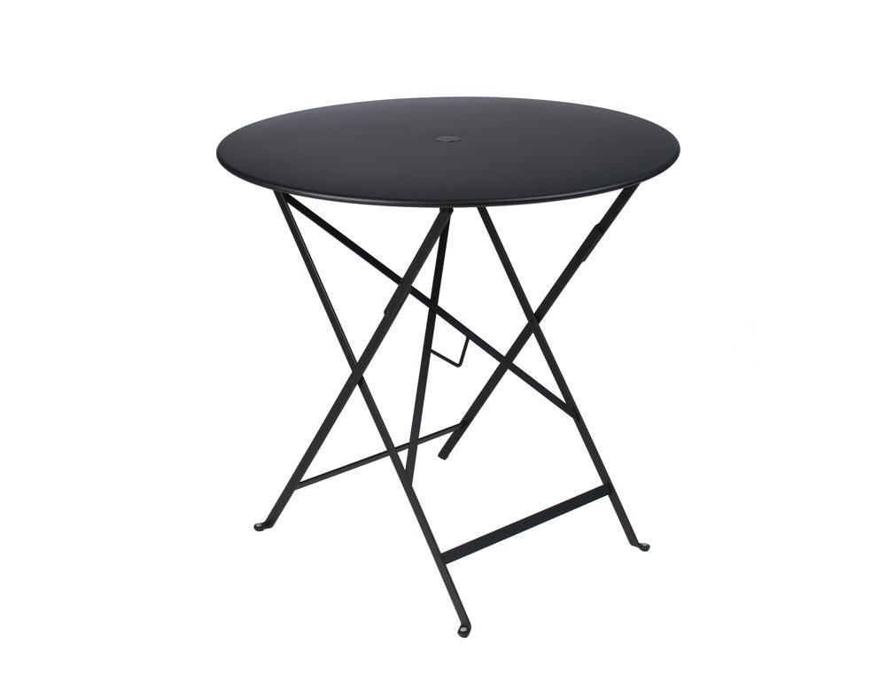Bistro table Ø 77 cm – Liquorice
