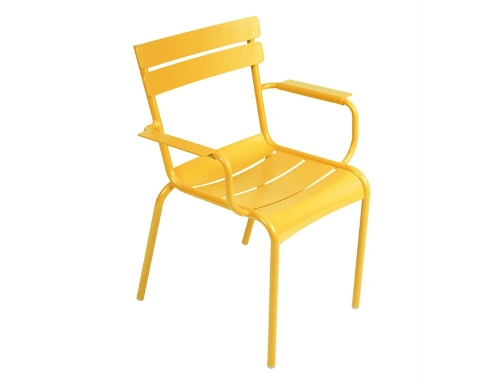 Luxembourg armchair – Honey