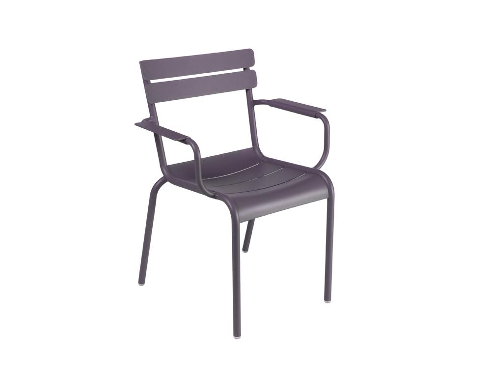 Luxembourg armchair – Plum