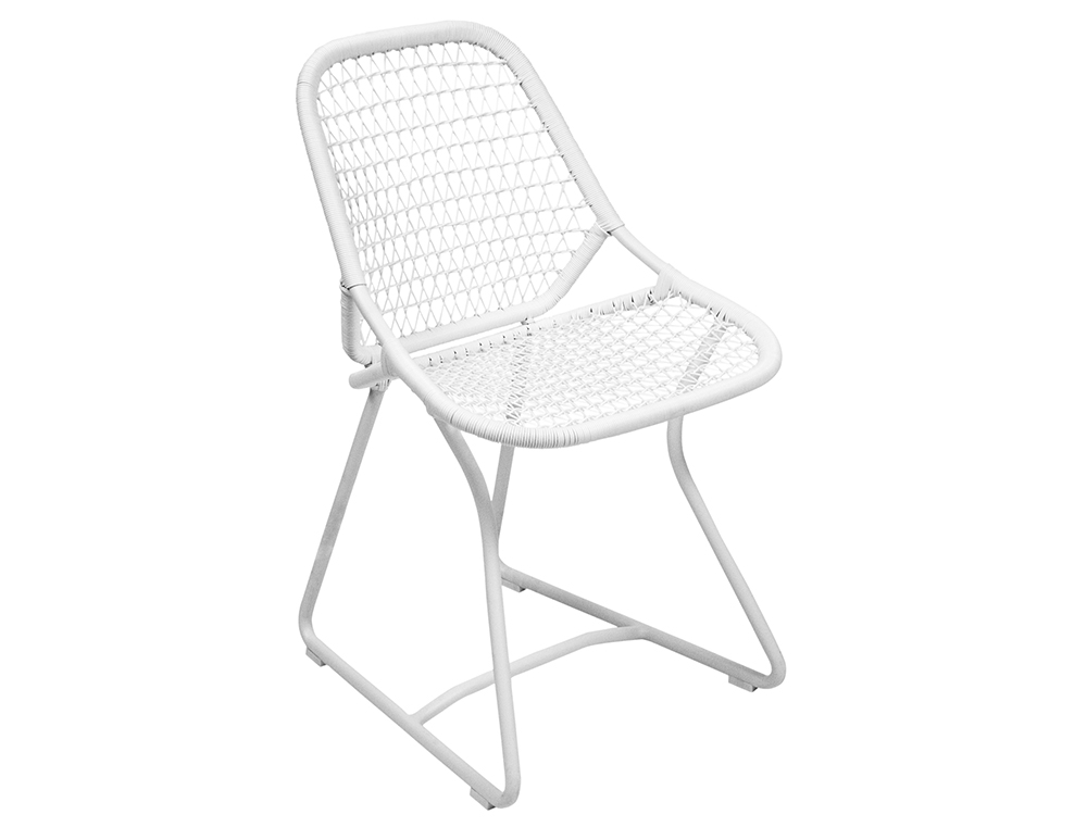 Sixties chair – Cotton White