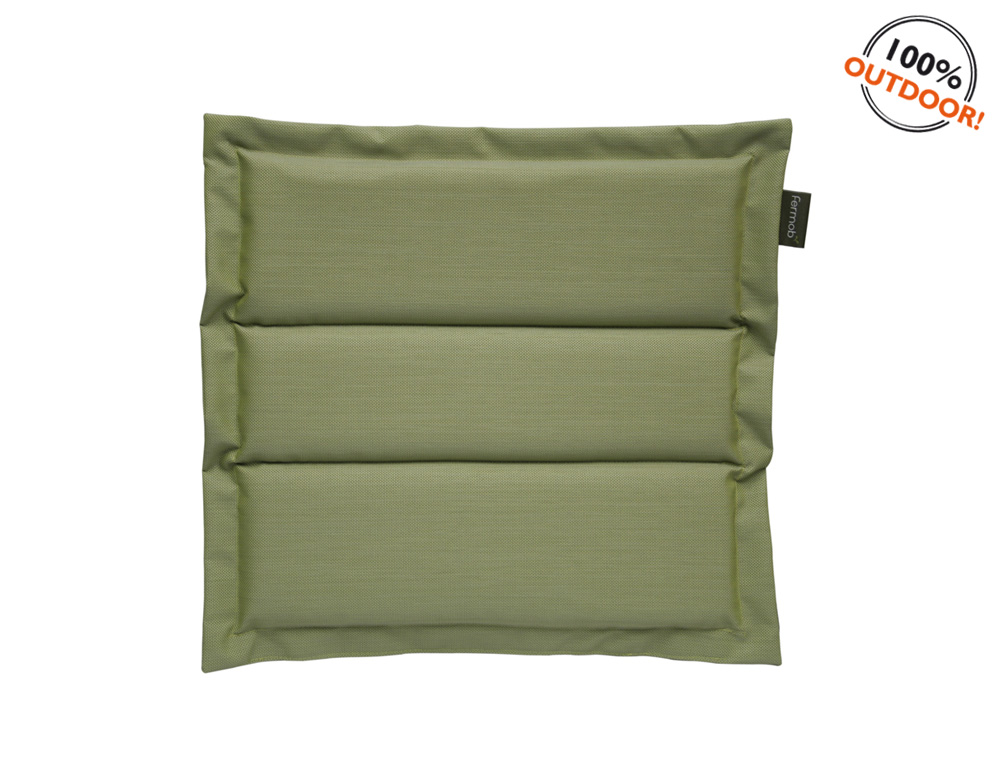 The Basics outdoor cushion for Luxembourg seats – Dill Green
