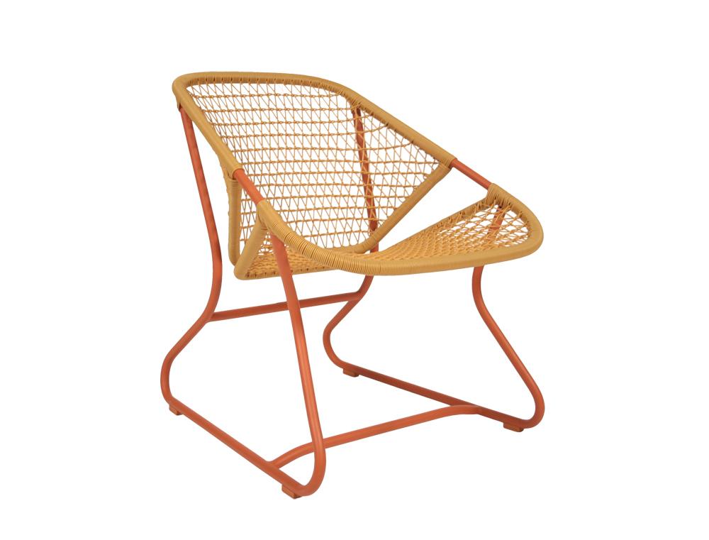 Sixties armchair – Paprika