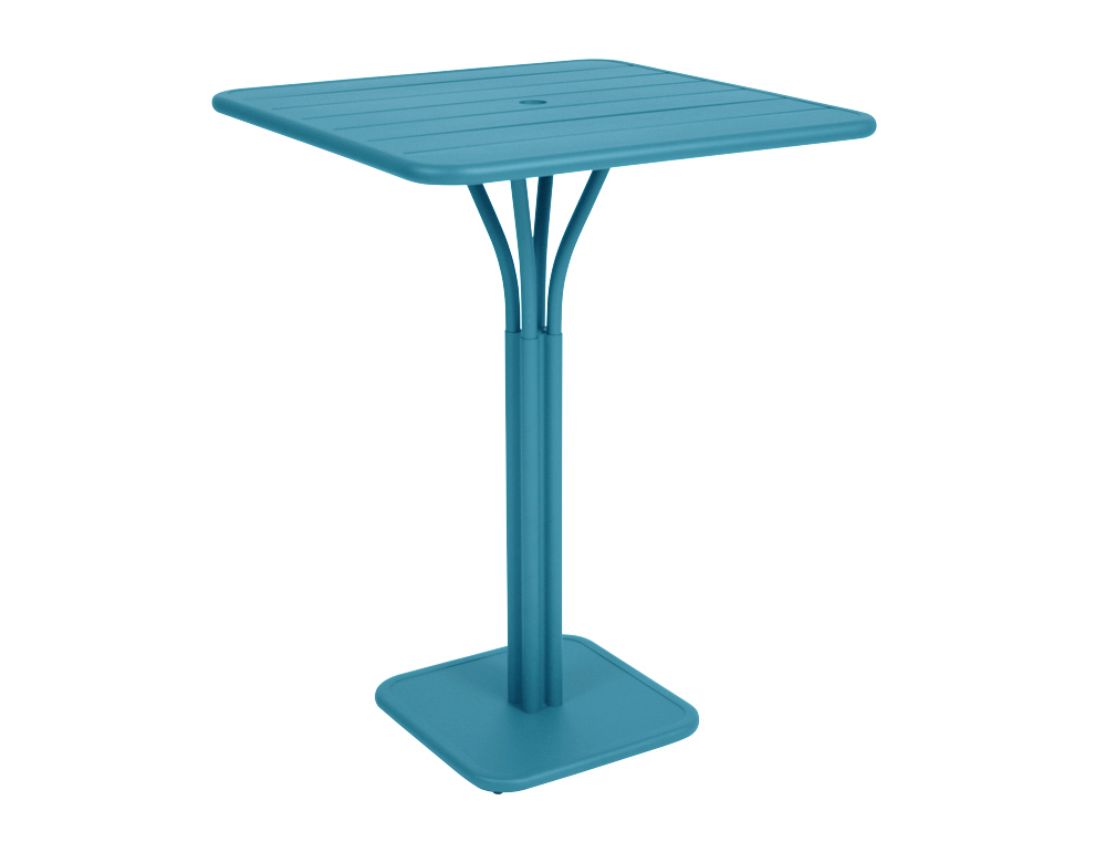 Luxembourg high table – Turqouise Blue