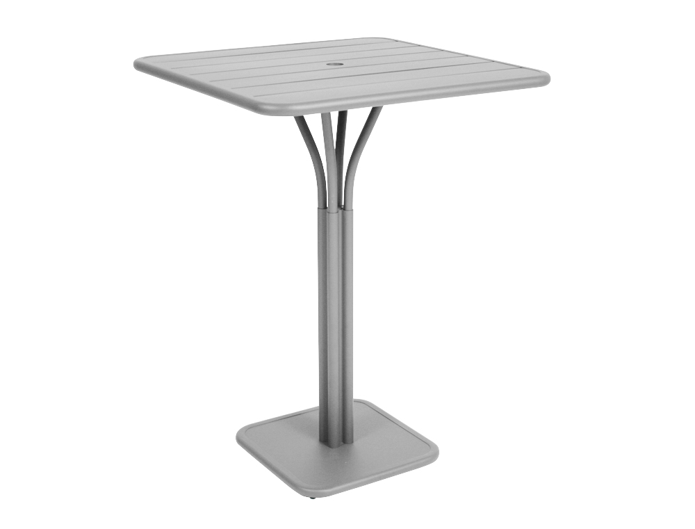 Luxembourg high table – Steel Grey