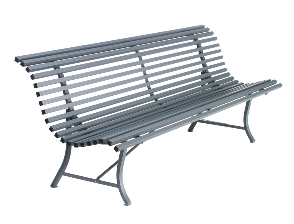 Louisiane bench 200 cm – Storm Grey